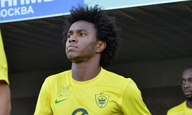 Is Willian ending up at Chelsea rather than Tottenham Hotspur?