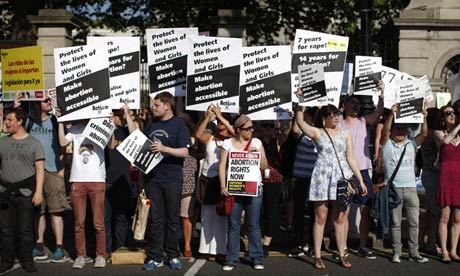 The 'Culling Down' continues... Ireland's First Legal Abortion Carried out in Dublin