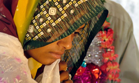 MDG : child marriage in India