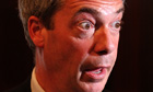 Eye-boggling: even Nigel Farage believes Ukip need to get a grip.