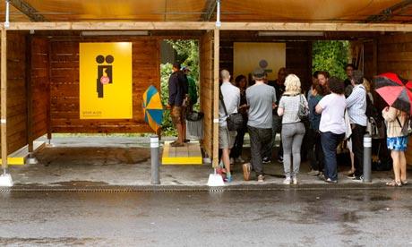 Sex boxes in Zurich, Switzerland.