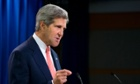 Syria: US secretary of state John Kerry calls chemical attack 'cowardly crime' - as it happened