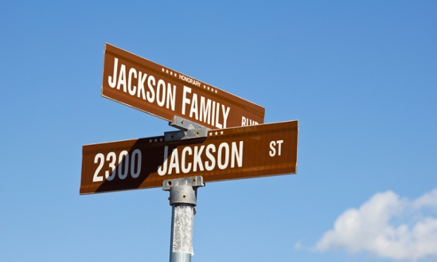 Michael Jackson's intersection in his home town of Gary, Indiana