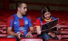 capital one cup: Crystal Palace fans