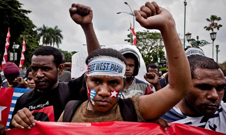 West Papua protest