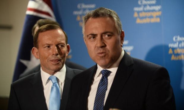 Tony Abbott and Joe Hockey.