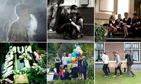 As we live and breathe: your photos of funerals and smoking