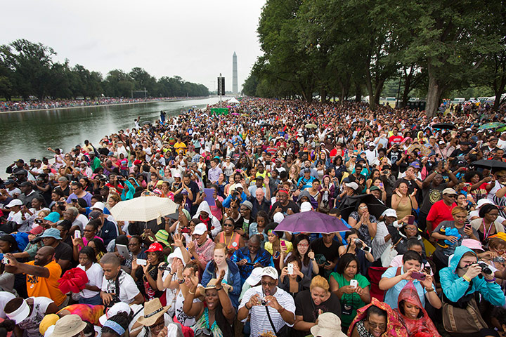 50th Anniversary March: 50th anniversary of the March on Washington