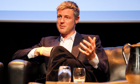 Zac Goldsmith at the Guardian Open Weekend 25/3/12