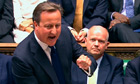 David Cameron in Syria debate