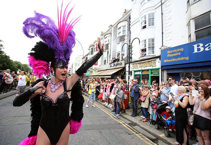 Cuenta atrs para el Orgullo Gay en Brighton Te lo