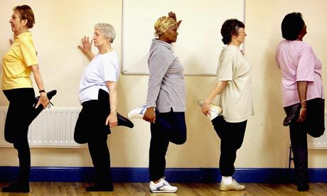 Pensioners Keep Fit