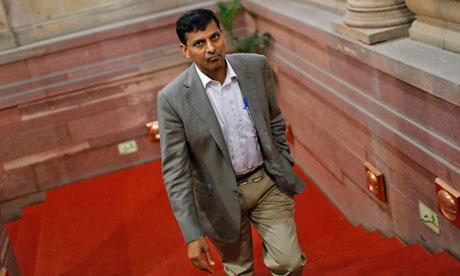 India's chief economic adviser Raghuram Rajan
