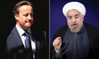 David Cameron writes to Iran's new president in attempt to mend relations
