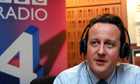 David Cameron on BBC Radio 4