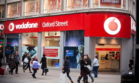 Vodafone, BT, Verizon Business, Global Crossing, Level 3, Viatel and Interoute have been contacted. Photograph: Felix Clay