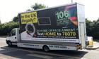 'Go home' van