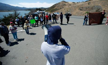 California prison strike
