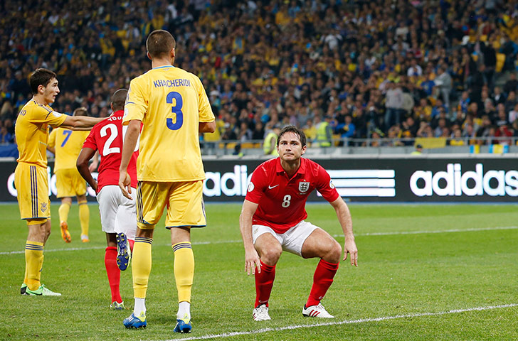 World Cup 2014 qualifiers: Ukraine v England
