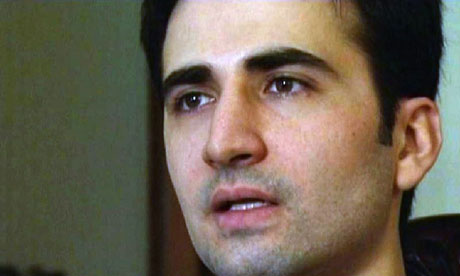 American 'spy' hits back at Iranian captors  Ex-marine Amir Hekmati claims TV confession was forced and he is being held hostage, according to letter smuggled out of jail