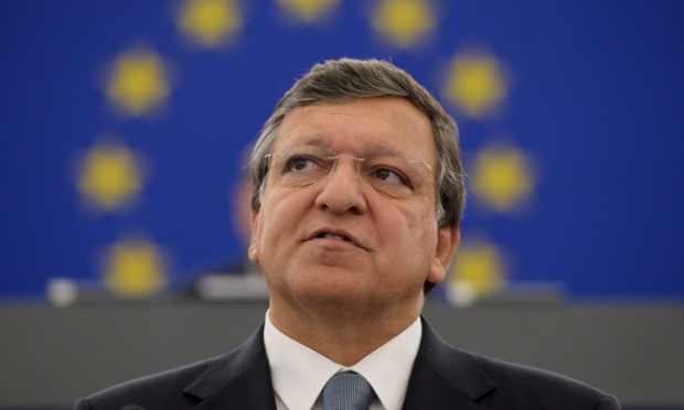 European Commission President Jose Manuel Barroso delivers his annual 'State of the Union' speech during a plenary session at the European Parliament in Strasbourg, France, 11 September 2013.