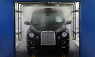 A completed TX4 (Euro 5) London Taxi