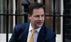 Nick Clegg claimed £152,553.82 for 2012-13, mostly for costs of running of his office.