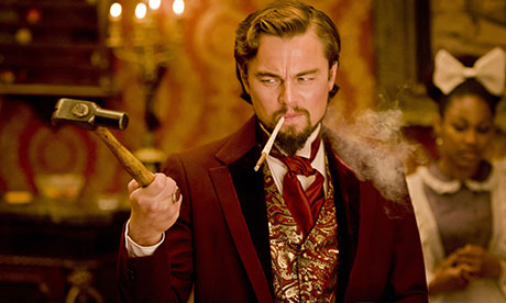 Leonardo DiCaprio as Calvin Candie in Django Unchanined.