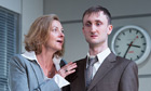 'Provocative':  Pippa Haywood is 'outstanding' and Tom Brooke 'magnetic' at the Royal Court.