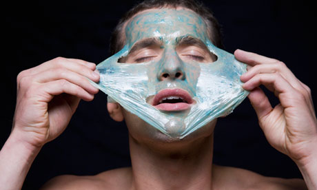 Man Having Facial