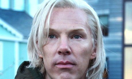 Benedict Cumberbatch as WikiLeaks founder Julian Assange in The Fifth Estate