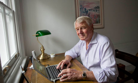 Paddy Ashdown at home in south London