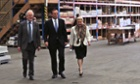 Bronwyn Bishop, right, with Tony Abbott on the campaign trail before the election.