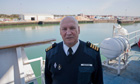 Captain Mikhail Polyakov on the MV Independent
