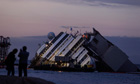 Costa Concordia: slow work to raise ship continues as island looks to future
