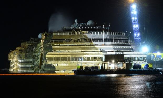 Costa Concordia Wreck Inside
