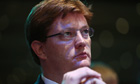Danny Alexander listens to a session at the Liberal Democrat conference in Glasgow