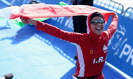 Shirin Gerami, first iranian female athlete