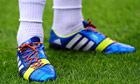 Joey Barton's rainbow bootlaces.