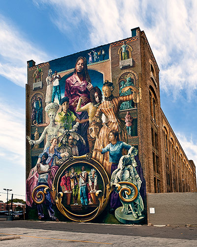 Top 10 philadelphia street murals in pictures travel for Common threads mural