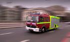 A London fire engine on call
