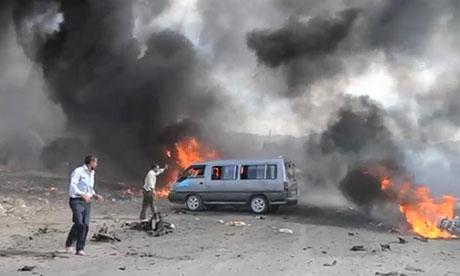 Carro-bomba na fronteira Turquia-Síria