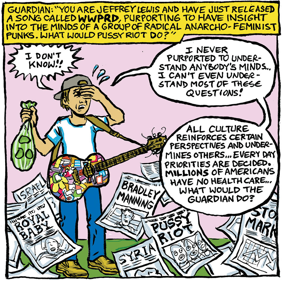 Jeffrey Lewis - What Would Pussy Riot Do?: frame five