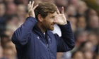 André Villas-Boas shows his delight at the return of the Europa League