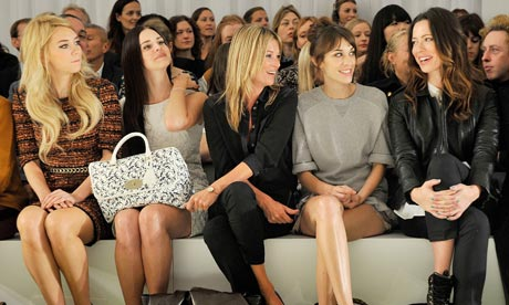 Fashion front row