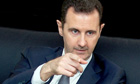 Syrian President Assad in interview with Le Figaro