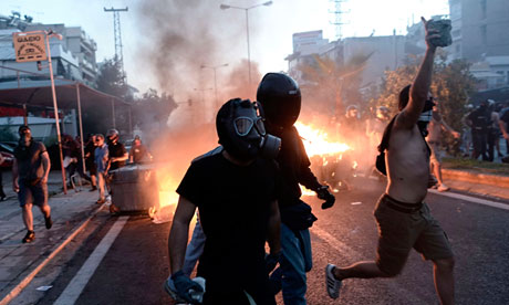 Athens protests
