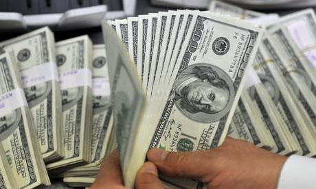 US dollar bank notes