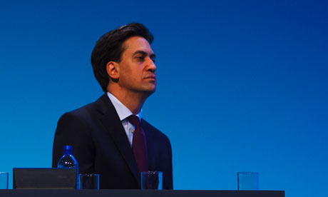 Ed Miliaband at Labour Conference 2013