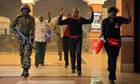 Kenya mall civilians escape